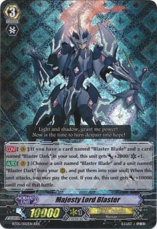 Majesty Lord Blaster Bt05 002en Triple Rare Rrr