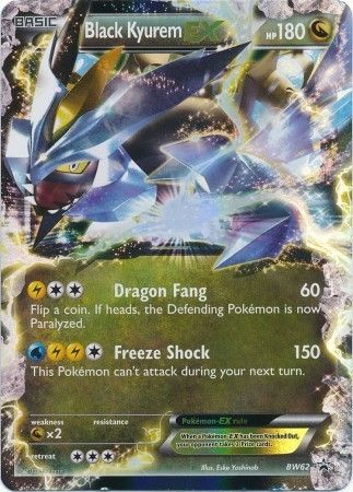 Black Kyurem Ex Bw62 Ultra Rare Pokemon Black