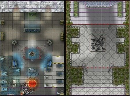N O W H E R E Arctic Base Teen Titans Tower Grounds Map