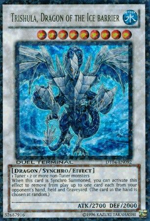 Trishula Dragon Of The Ice Barrier Dt04 En092 Ultra