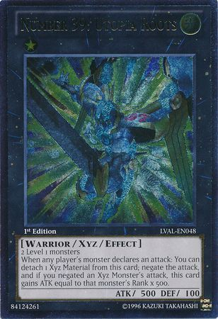 Ultimate Rare Number 39 Utopia Roots LVAL EN048 1st