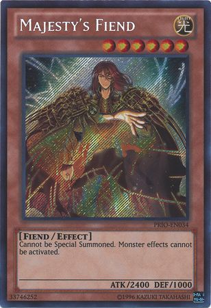 Majesty S Fiend Prio En034 Secret Rare Unlimited