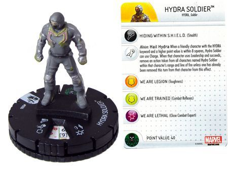 Hydra Soldier #006 Marvel: Avengers - Age of Ultron Movie Gravity Feed