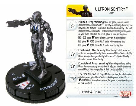 Ultron Sentry #007 Marvel: Avengers - Age of Ultron Movie Gravity Feed