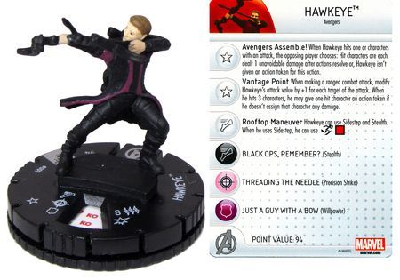 Hawkeye #009 Marvel: Avengers - Age of Ultron Movie Gravity Feed