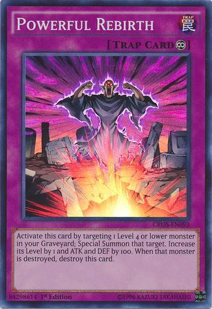 Powerful Rebirth Cros En093 Super Rare 1st Edition