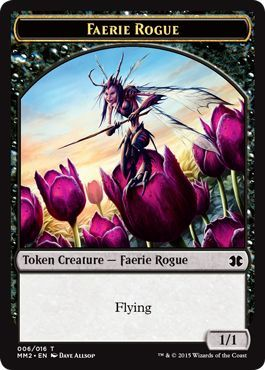 Faerie Rogue Token Modern Masters 2015 Singles Magic