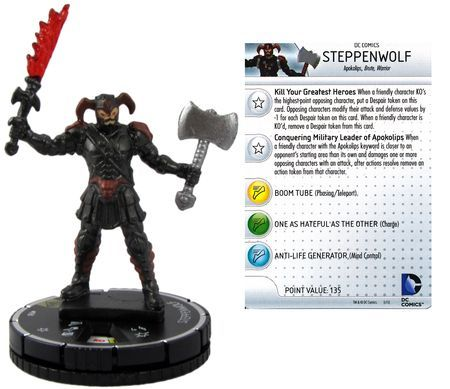 Steppenwolf 058 Superman And Wonder Woman Dc Heroclix