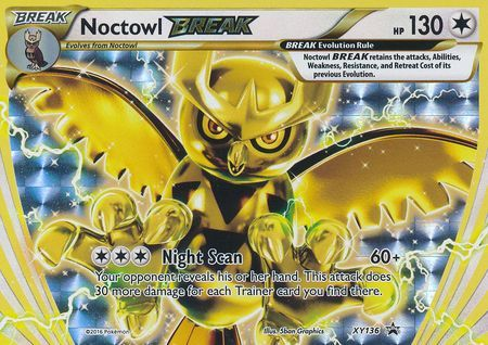 Noctowl Break Xy136 Break Rare Xy Promos Pokemon