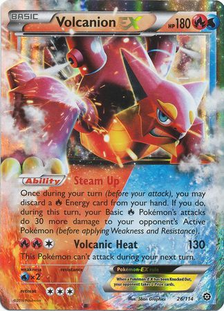 <strong>Volcanion</strong> <strong>EX</strong> - 26/114 - Ultra Rare