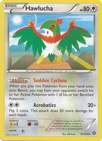 <strong>Hawlucha</strong> - 97/114 - Uncommon