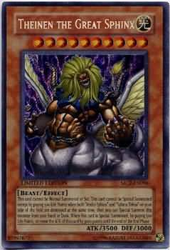 Theinen The Great Sphinx Mc2 En006 Secret Rare Yu Gi