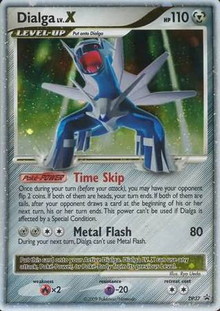 Dialga Lv X Dp37 Ultra Rare Diamond And Pearl Promos
