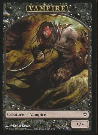 Vampire Token Zendikar Zendikar Singles Magic The