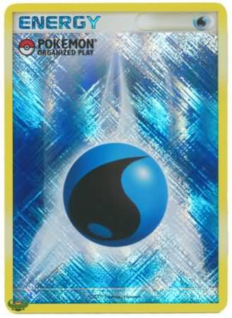 Water Energy Pokemon Organized Play Holo Pokemon