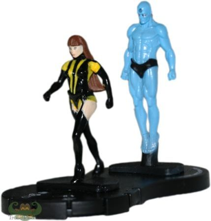 Dr.manhattan Silk Silk Spectre And dr Manhattan