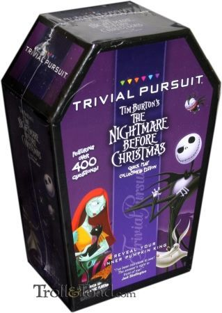 Trivial Pursuit: Nightmare Before Christmas Collector's Edition ...