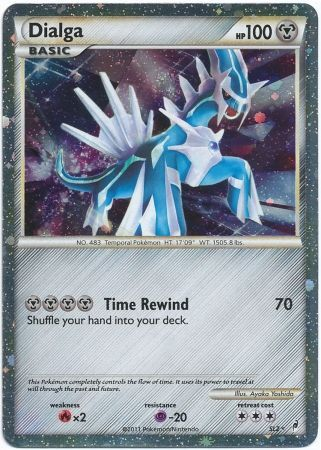 Pokemon dialga card ex