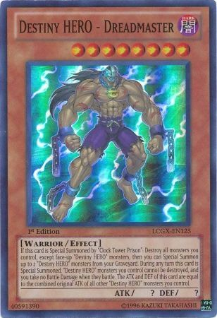 Destiny Hero Dreadmaster Lcgx En125 Super Rare 1st