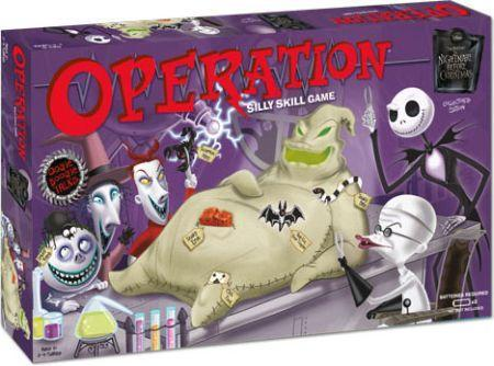 Operation: Nightmare Before Christmas board game (USAopoly ...
