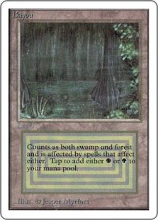 Bayou Unlimited Magic The Gathering