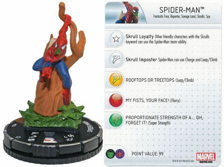 Spider Man 024 Marvel 10th Anniversary Marvel Heroclix