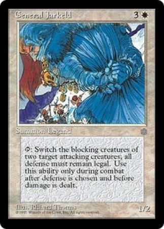 Jester/'s Mask ~ Ice Age ~ Excellent//Moderately Played ~ Magic The Gathering
