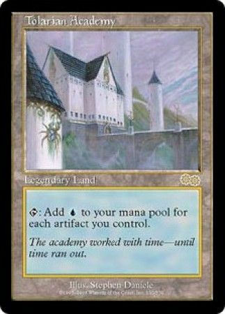 Tolarian Academy Urza S Saga Magic The Gathering